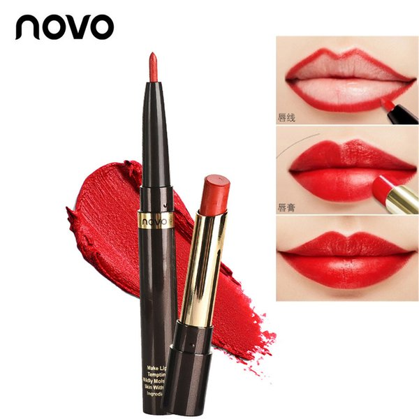 2018 Brand Mae Lipstick Velvet Korean Red Waterproof Long Lasting Moisture Beauty Lipsticks Cosmetic Lips Mae  Batons