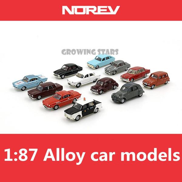 Modello speciale NOREV, modelli in lega norev da 1: 87, modelli di auto in metallo, ghiaccioli in metallo, veicoli giocattolo per bambini, spedizione gratuita