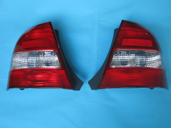 best selling Tail lamp lantern without bulb wires for Mazda 323 familia BJ 1998 1999 2000 11-A004L-A 11-A003R-A