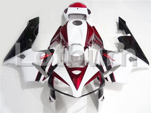 Custom Made Motorcycle Fairing Kit Fit For Honda CBR600RR CBR600 CBR 600 2005 2006 05 06 F5 ABS Fairings fairing-kit Injection Molding A203
