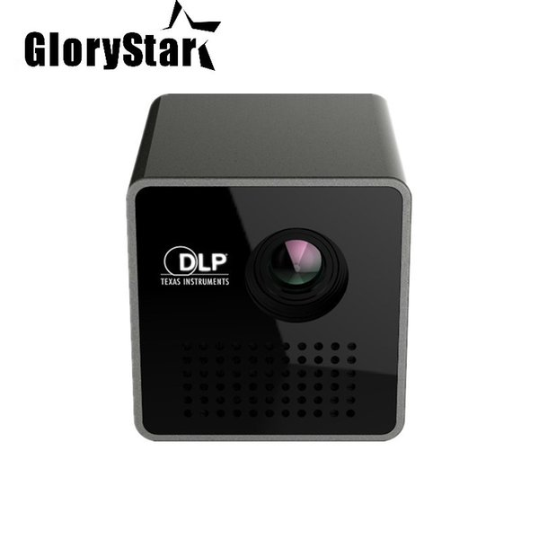New Original P1+ WIFI Wireless LED Smart Mini Projector Support Miracast DLNA 30Lumes Handheld Video Proyector Beamer