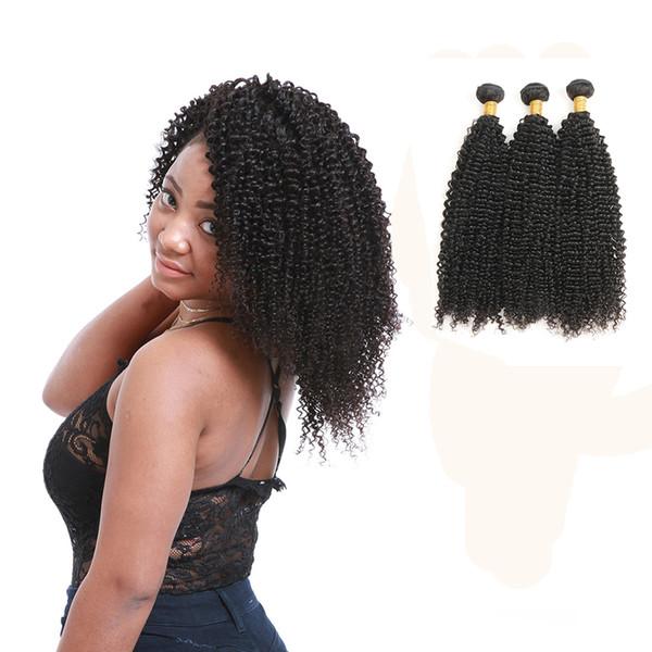 Raw Indian Human Hair Kinky Curly Bundles Virgin Weave Cuticle Aligned Hair Extensions Wholesale Crochet Hair Extensions