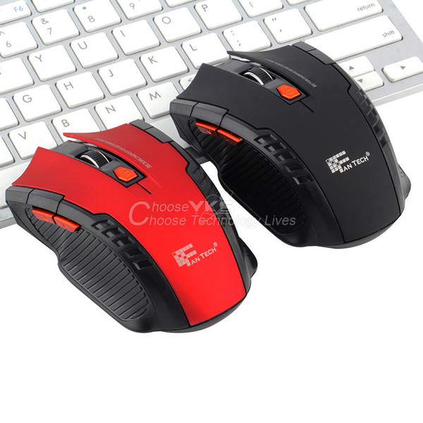 2.4Ghz Mini portable Wireless Optical Gaming Mouse gamer Mice For computer PC Laptop New YKS