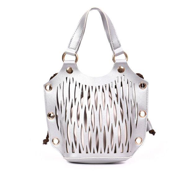 2018 mulheres bolsas estilo Retro bolsa de pele, mulheres New design oco-out saco especial do mensageiro para a moda meninas da moda