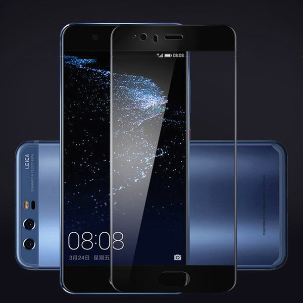 Luxury 3D Full Cover Tempered Glass for Huawei P8 Lite Screen Protector for Huawei P10 P9 P8 Lite Glass Film Protection