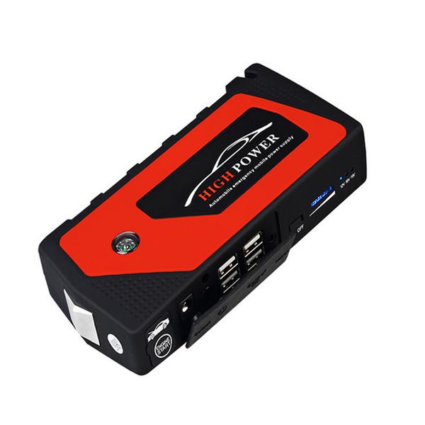 New 12V 69800mAh Multi-Function 1set Car Charger Battery Jump Starter 4USB LED Light Auto Emergency Mobile Power Bank Tool Kit