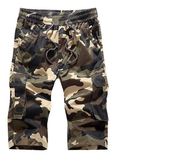 84a1b57776 Summer Men ' ;S Army Cargo Work Casual Bermuda Shorts Men Fashion Sports  Overall Squad