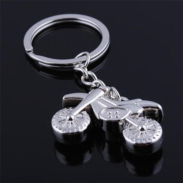 Creative Personality Metal Heavy Locomotive Motorcycle Fashion Keychain Charm Key Chain Good Gift For Friend K1765