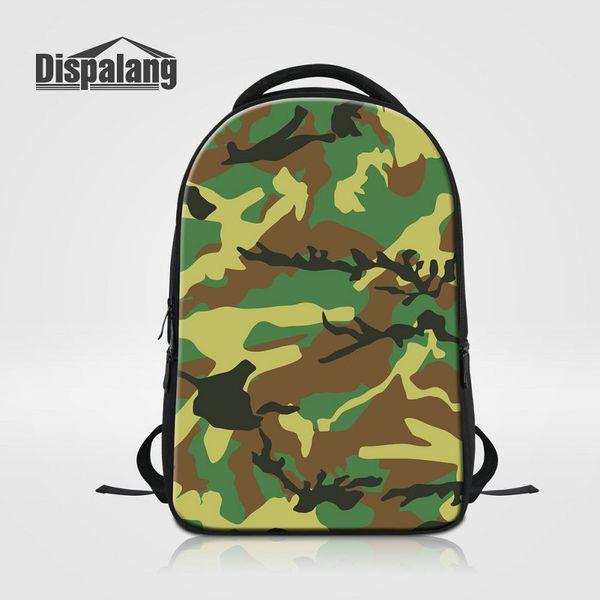 Fashion Men Backpack Camouflage Customize Design Multifunctional Travel Laptop Bags Boys School Shoulder Bag Knapsacks Large Rucksack Rugzak