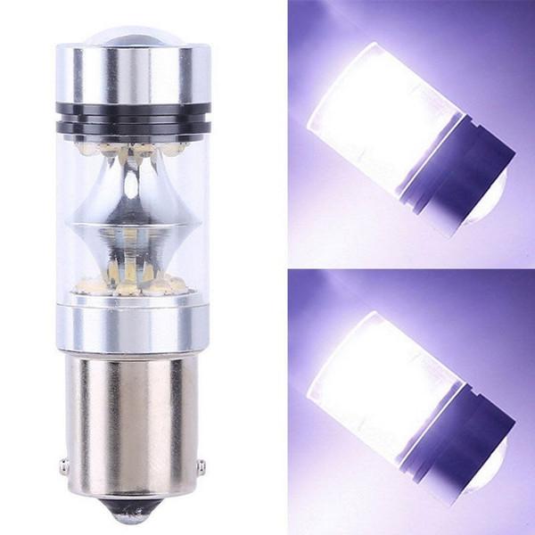 1156 1157 100W 20SMD LED Backup Light Car Reverse Signal Reverse Fog Light Tail Driving Lamp DRL Daytime Running