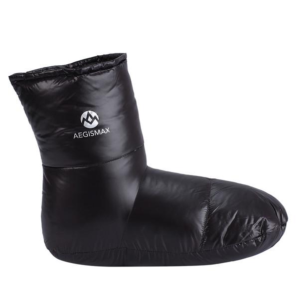 AEGISMAX Daunenschuhe Socken Warme Weiche Hausschuhe Daunengefüllte Hausschuhe Innen Warm Plus Größe Für Mann 29 cm / 11,4 zoll
