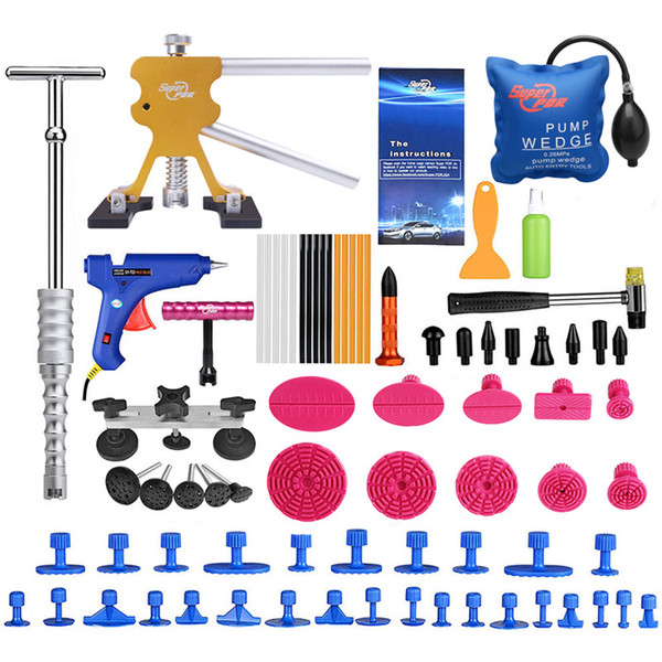 PDR Tools For Car Kit Instruments Car Body Repair Kit Dent Puller Removal Dent Lifter Tool Set Suction Cup For Car Dents