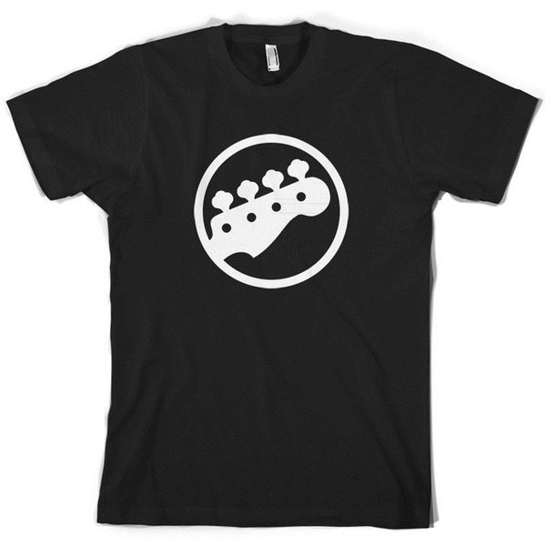 Bass Guitar Headstock - Mens T-Shirt / Player - 10 Colours - S-XXL Classic Quality High free shipping