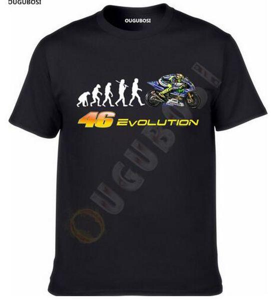 2018 Biker EVOLUTION Yamaha M1 R1 Moto GP 46 Fan T Shirt T-SHIRT Weihnachtsgeschenk ougubosi