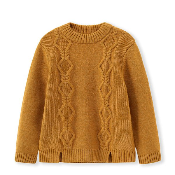 children sweater fashion kids winter knitted cardigans sweater for girls boys thick warm pullover outwear clothing