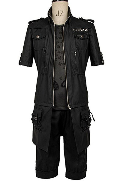 Final Fantasy FF15 XV Noctis Lucis Caelum Noct Jacket Hoodie Cosplay  Costume Outfit Naruto Cosplay Costume Halloween Costumes Children From  Zazzycos,