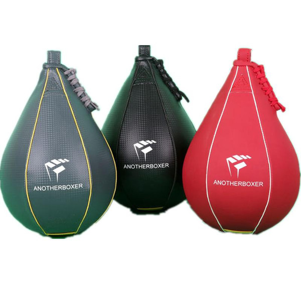 New Double End Muay Thai Boxing Punching Bag Speed Ball PU Punch Training Fitness Sports Practical Speed Balls swivel