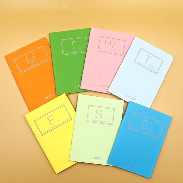 Asla Renkli Her Gün Dizüstü ve Dergiler Boş Yumuşak Kapak Mini Dizüstü Günlüğü Cep Not Defteri Promosyon Hediye Kırtasiye