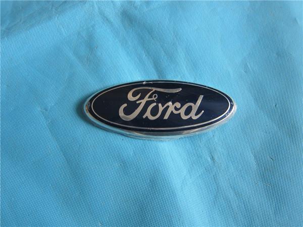 best selling Front bumper radiator grille emblem for Ford Fiesta 2010-CAT CL B6 2008 2009-12 Badge 8U5A 19H250 AB