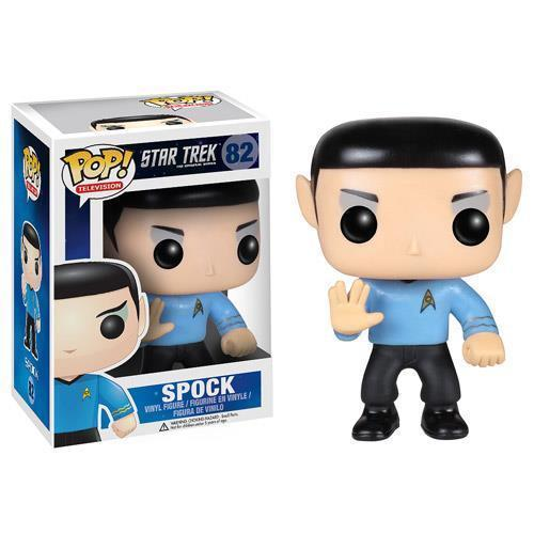 Funko Pop Star Trek Series Spock Vinyl Action Figure with Box #82 Popular Toy Good Quality