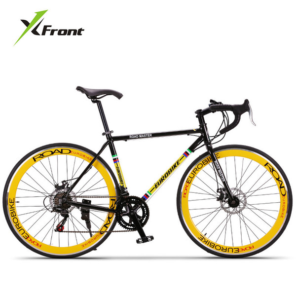 New brand Retro 27 speed racing bike 700C*50cm bike Aluminum alloy frame Bend bicycle pedal cycling disc brake road bike