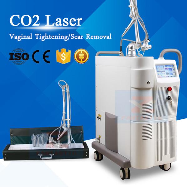 Novo em folha!!! Laser de CO2 fracionado pele Resurface terapia Vaginal rejuvenescimento da pele Laser cicatriz remoção CO2 Laser tratamento beleza máquina