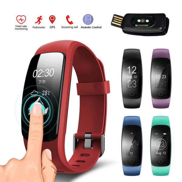 Smart Band Heart Rate Monitor Sports Wristband ID107 Plus Fitness Tracker Smartband for Android iOS Phone Bluetooth Smart Watch