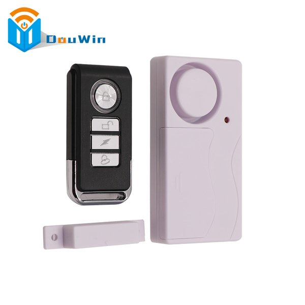 Remote Control Alarm Security Door Window Timely Burglar Home Siren Magnetic Sensor Warning System Door Window Detector