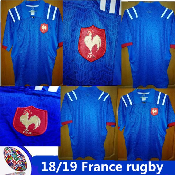 France Rugby Alternate Shirt Top 2017//18 Mens