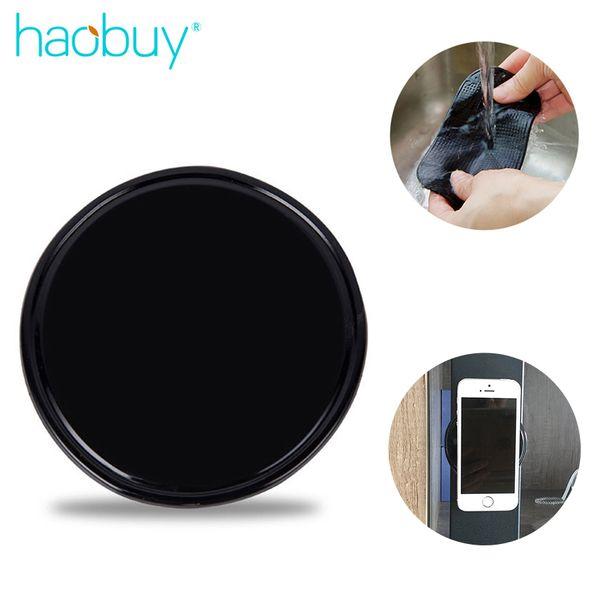 Haobuy Universal Magical Pad Non-slip Mat Wall Sticker Circle Car Mobile Phone Bracket For Smartphone Sticky Gel Anti-slip Pad
