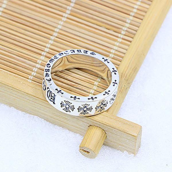 2018 men kendra scott 925 sterling silver couple ring simple men and women birthday gift stainless steel ring designer earrings Heart-shaped