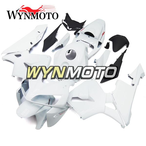 White Pearl Fairings Carrocería con inyección de ABS para Honda CBR600RR F5 Año 2005 2006 05 06 Kit completo de carenado Nuevo