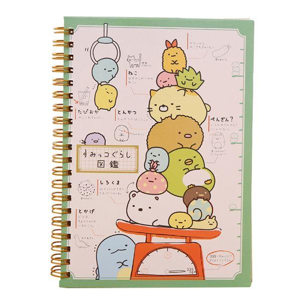 Hot sale Kawaii Japan cartoon Cute Animals Coil notebook/Diary agenda/pocket book/office school supplies