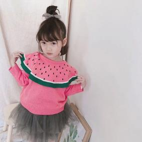 Baby Show And hot style bump color towel embroidery cardigan coat of the girls Han edition sweater in children 18881
