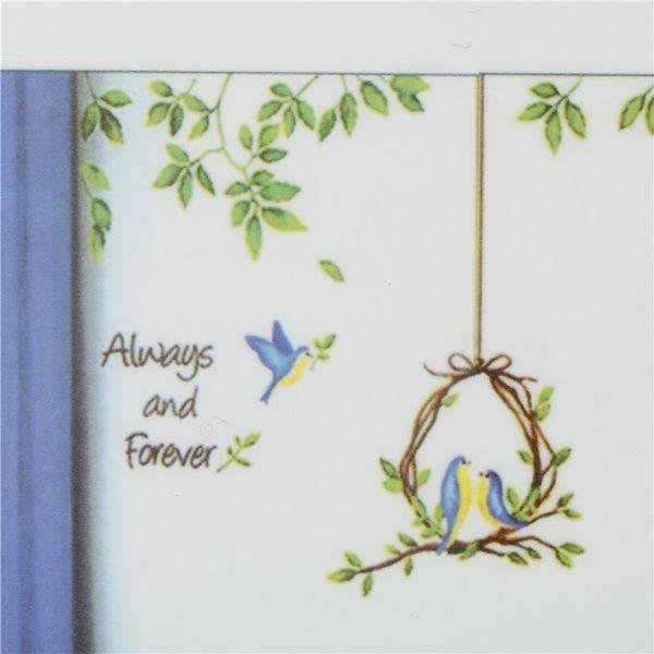 3D 50*70cm Cartoon Animal Tree Birds Wall Stickers For Kids Room Living Room Home Decor 1pc