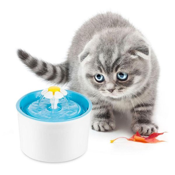 Automatic Cat Water Fountain 1.6L Electric Water Fountain Dog Cat Pet Drinker Bowl Pet Cat Drinking Fountain Dispenser