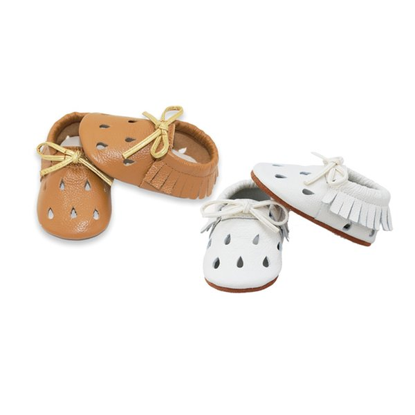 Sandalias de bebé Sandalias de niña recién nacidas Zapatos de bebé de verano Zapatos casuales Para niñas Sandalias de cuero genuino 2 colores