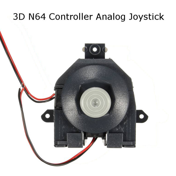 best selling 3D Analog Joystick Rocker Thumbstick Thumb sticks Module For N64 Controller Replacement Repair Parts DHL FEDEX EMS FREE SHIPPING