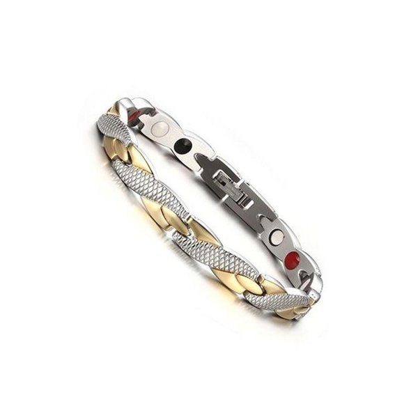 Twisted Healthy Magnetic Bracelet for Women Power Therapy Magnets Bracelets Bangles Women Men