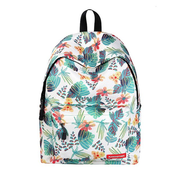 Multi-Color Fresh School College Backpacks Bag Fashion Printing New Arrival Outdoor Rucksack Japan and Korean Style Backpack