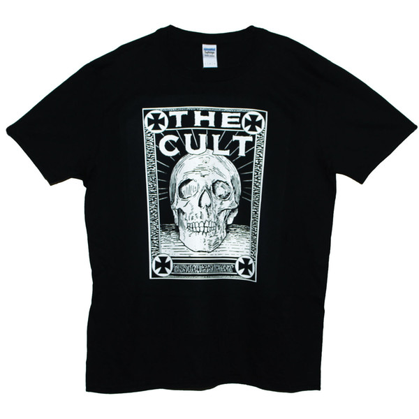 THE CULT T SHIRT Unisex Goth Hard Rock Heavy Metal Festival Band Graphic Tee