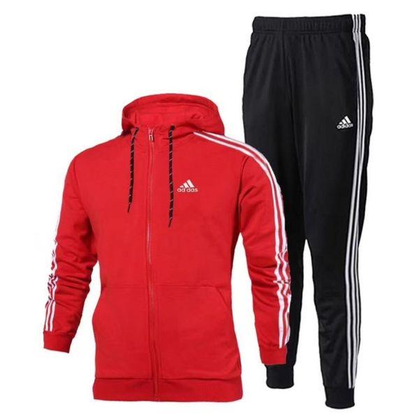 Fa hion de igner track uit pring autumn ca ual brand port wear track uit hoodie men clothing