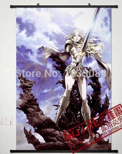 Anime Claymore Home Decor Affiche Wall Scroll