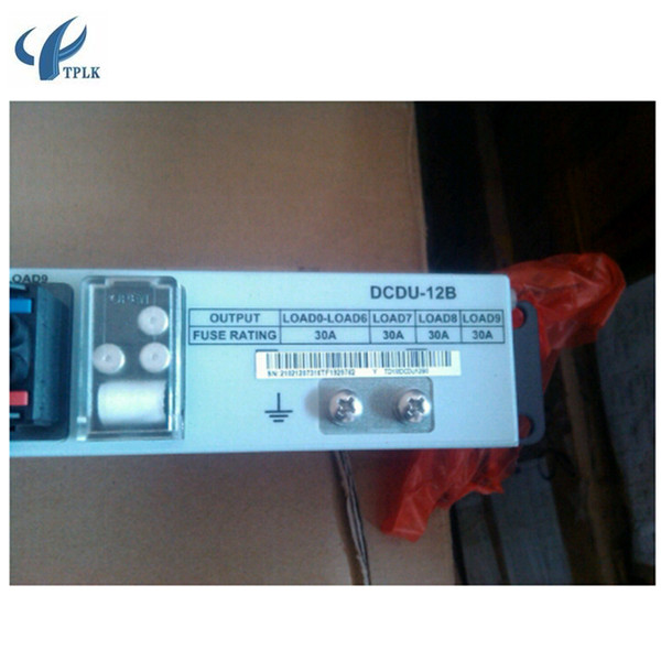 Unité de distribution des nouveaux équipements à fibres optiques HW DCDU-12B, DCDU-12B DC Alimentation 48V Huawei armoire PDU