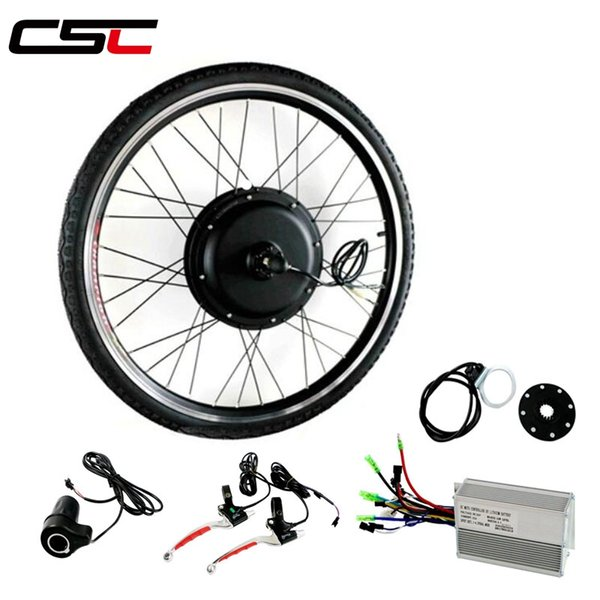 "48V 1000W 170mm 190mm Rear brushless Non Gear hub Bicycle kit 26"" 4.0 Tyre Snow Electric Fat Bike Conversion Kit motor wheel"