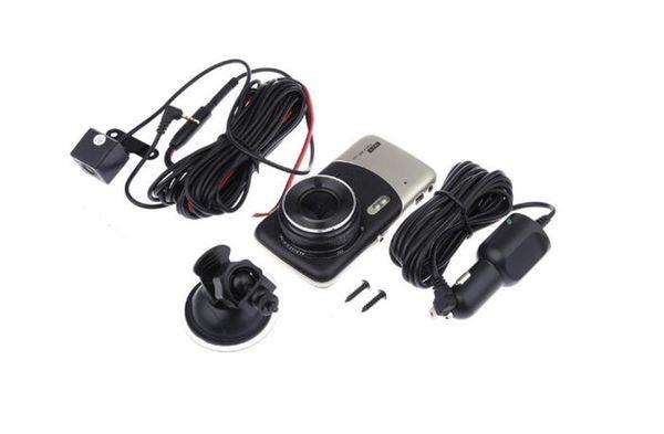 "1080P full HD 3.7"" car DVR camera 2Ch windshield digital recorder car black box G-sensor parking grid motion detection loop recording"