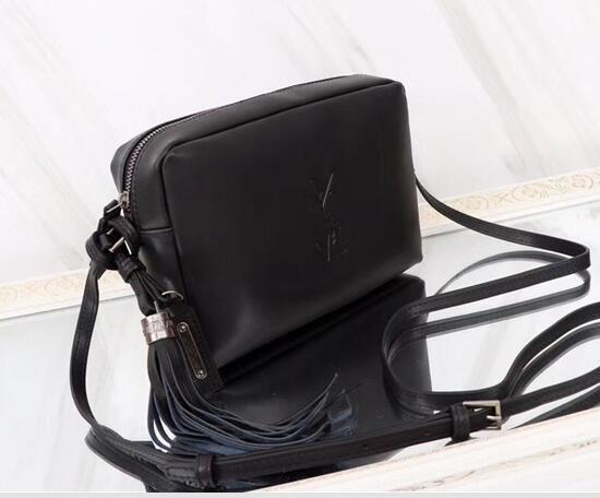 Summer Female 2018 New Korean Version Of The Wild Fashion Genuine Leather Letter Pattern Simple Adjustable Cross Body Bag