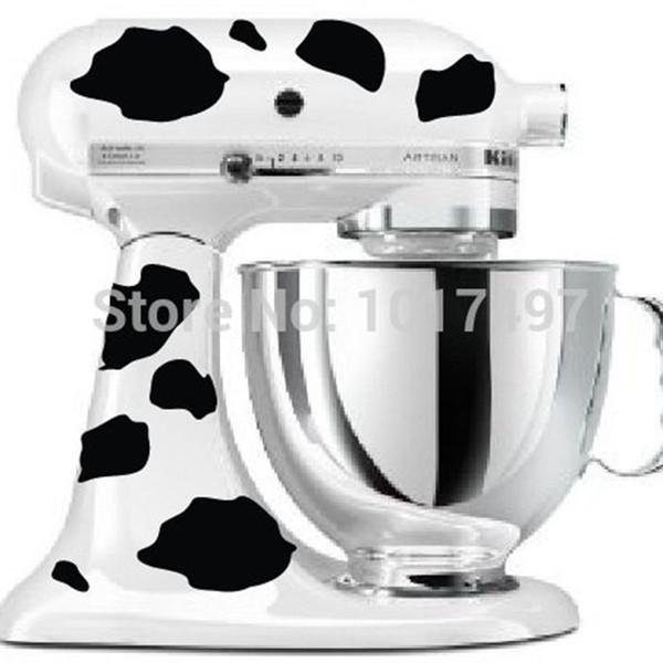 Kitchenaid Mixer Cow Print Aufkleber Decals, kostenloser Versand f2067