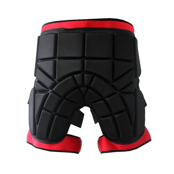 Men women Outdoor Sports Safety Black Protective Hip Padded Shorts Snowboard Skiing Skating Impact Protection #4S26