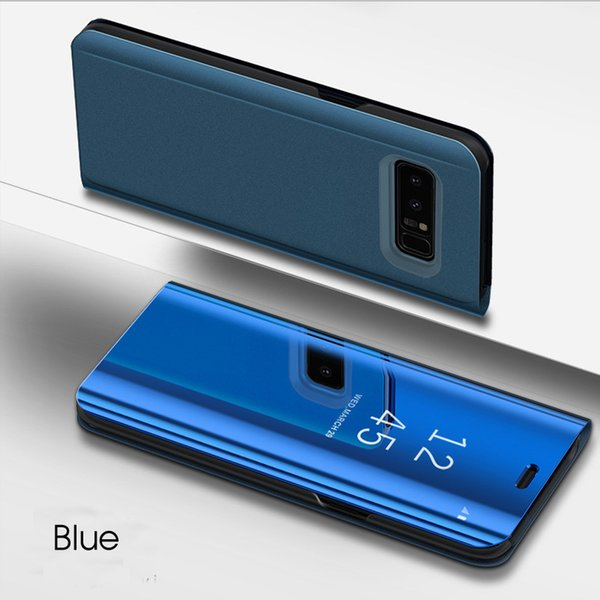 New Arrival For samsung galaxy s8 case Eletroplating mirror mobile phone shell for samsung galaxy note 8 case flip phone case